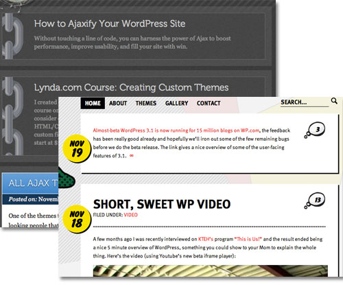 WordPress Post Format Examples