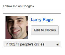 GoogleCards Widget: Add Your Google+ Profile to WordPress