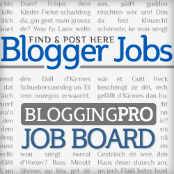best blogging jobs