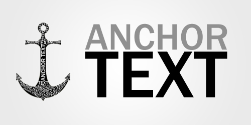 Anchor text in link building