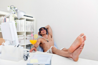 laidback blogger