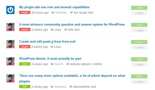 AnPress WordPress Forum plugin