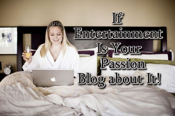 personal entertainment blog