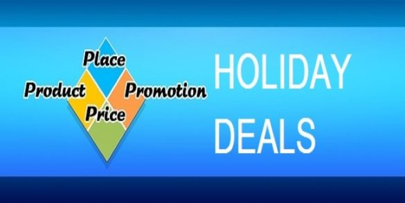 market your holiday deals