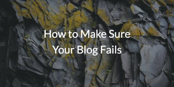bad blogging practices