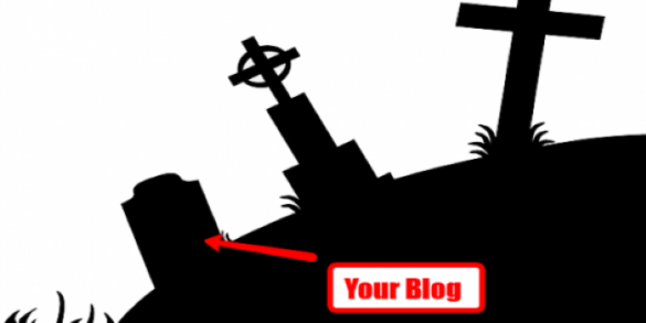 abandon your blog