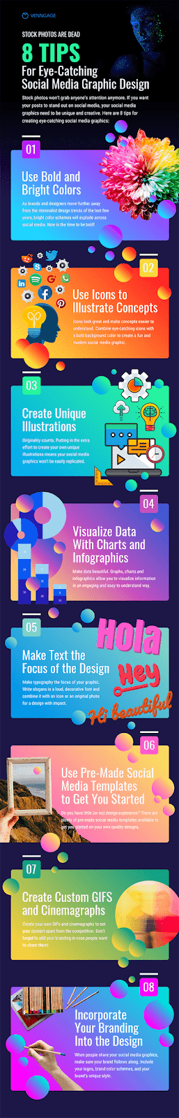 8 Tips for Eye-Catching Social Media Graphic Design