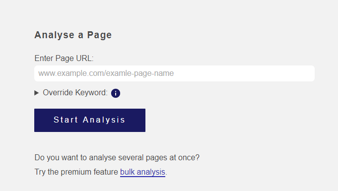 blogpatcher analyse a page