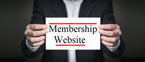 start membership website