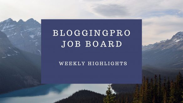 bloggingpro job board