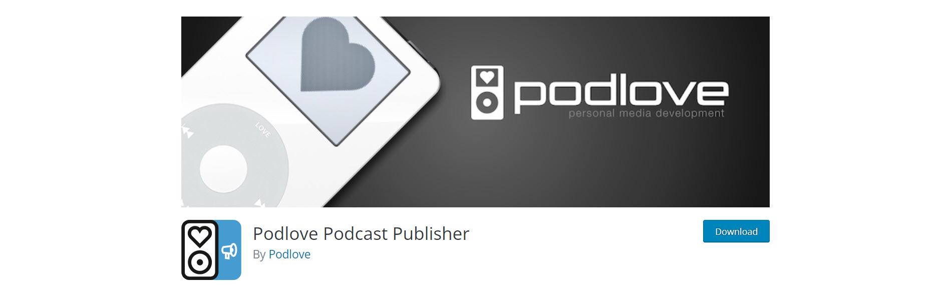 podlove - best wordpress podcast plugins